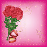 Wedding greeting and invitation card Royalty Free Stock Photo