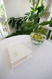Wedding guest book Stock Photos
