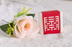 Wedding guests gave candy box Royalty Free Stock Photography