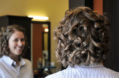 Wedding Hair Stock Photos