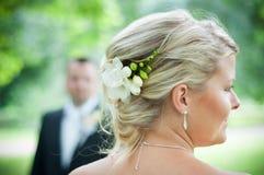 Wedding Hair Royalty Free Stock Photos