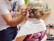 Wedding Hair Style Royalty Free Stock Photo