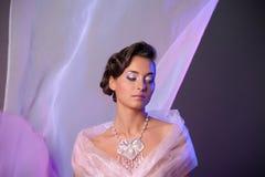 Wedding hairstyle Royalty Free Stock Photo