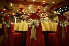 Wedding hall Royalty Free Stock Images