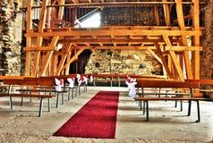 Wedding hall Stock Image