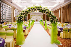 Wedding hall Royalty Free Stock Photo