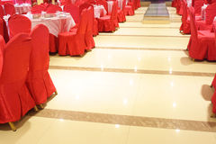 Wedding hall interior Royalty Free Stock Image