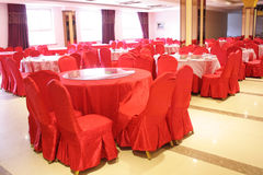 Wedding hall interior Royalty Free Stock Photos