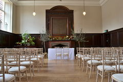 Wedding hall Stock Images