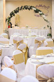 Wedding Hall Setup Royalty Free Stock Images