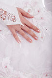 Wedding hand Royalty Free Stock Image