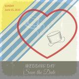 Wedding hat Stock Image