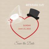 Wedding hat Stock Photography