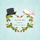 Wedding hats Royalty Free Stock Image