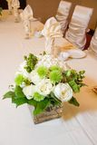 Wedding Head Table Centerpiece Royalty Free Stock Photography