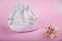 Wedding headbag Royalty Free Stock Photos