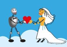 Wedding heart Stock Photo