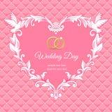 Wedding heart Stock Image
