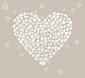 Wedding heart2 vector illustration