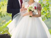 Wedding Hug Stock Photography