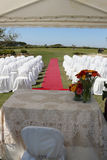 Wedding hut Stock Photo