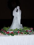 Wedding Ice. Ice Sculpture at Wedding Royalty Free Stock Photography