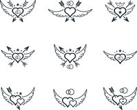 Wedding icon Stock Images