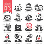 Wedding icon set. Quality set of icons that can be used for your marriage royalty free illustration