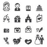 Wedding icon Stock Images