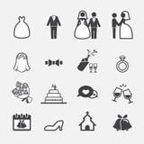 Wedding icon royalty free illustration