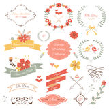 Wedding Icons Stock Image
