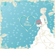 Wedding illustration Royalty Free Stock Images