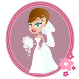 Wedding illustration Stock Photography