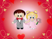 Wedding illustration Stock Photo