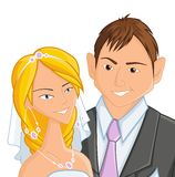 Wedding,  illustration Royalty Free Stock Photos