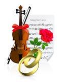 Wedding Illustration Royalty Free Stock Photography