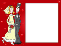 Wedding illustration Stock Photos