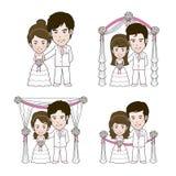 Wedding Illustration Royalty Free Stock Images