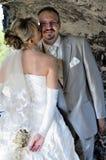 Wedding im Freienlandschaft Stockbild