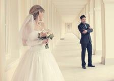 Hochzeitstag Stockfoto