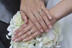 Wedding image of eternal love Stock Images