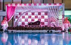 Wedding Indian Tent Stock Images