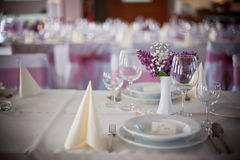 Wedding interior Stock Photos