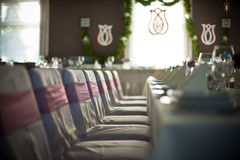 Wedding interior Stock Images