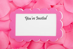 Wedding Invitation Stock Photos