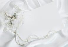 The wedding invitation Stock Photo