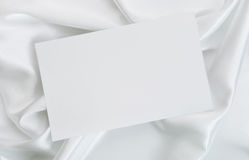 The wedding invitation. On a white background Stock Images