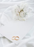The wedding invitation royalty free stock image