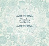 Wedding invitation stock illustration