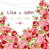 Wedding invitation Royalty Free Stock Photo